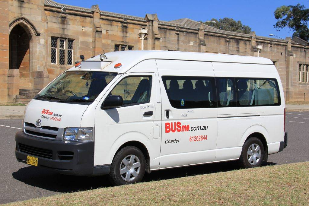 BUSme 13 Seater at National Film and Sound Archives