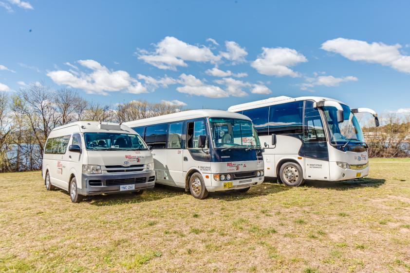 BUSme 13, 24 & 33 Seat Buses